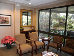Buckhead dental office waiting room