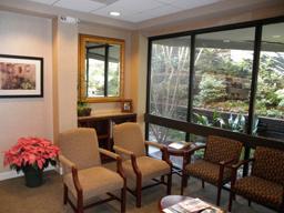 Buckhead dental office waiting room